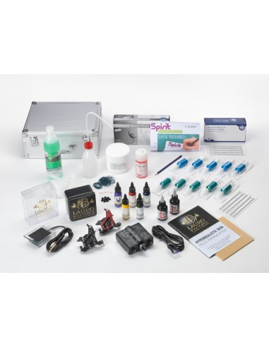 Tattoo Starter Double Coils Kit